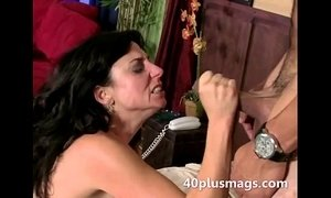 3some  brunette mature  hardcore  housewife  mature