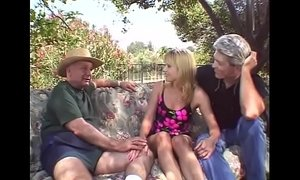 3some  blonde mature  outdoor sex  swingers  wife