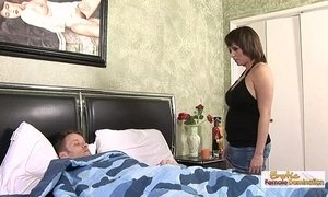 fuck  husband  sexy mature  stepmother
