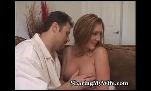 cuckold  hubby  redhead mature  watching  wife
