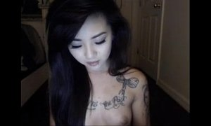 asian moms  pretty  tattooed  woman