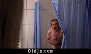 blonde mature  fuck  grandpa  man vs woman  old cunt  stunning