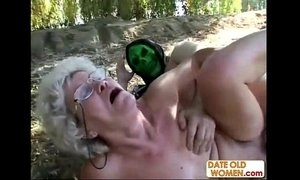 forced  granny  sucking  woman