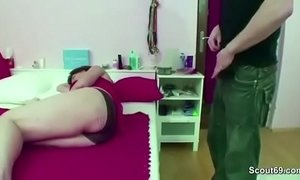 caught fuck jerking mom mom step son stepmother