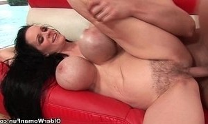 cum  tits  titted mature