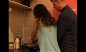 daddy  daughters  fuck  kitchen  step dad